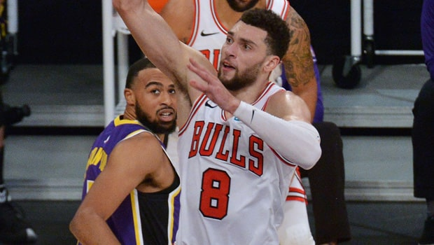 Bulls star Zach LaVine speaks very highly of his teammates Patrick Williams and Coby White