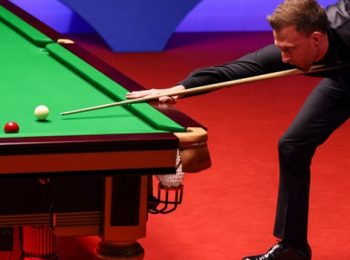 Trump through to last eight, eager to face rival Ronnie O'Sullivan in the final