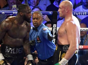 """Fury Calls Wilder An """"Atomic Bomb"""" Ahead Of Their Weekend Fixture"""